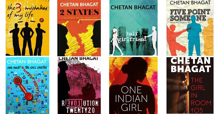 Chetan Bhagat Novels List