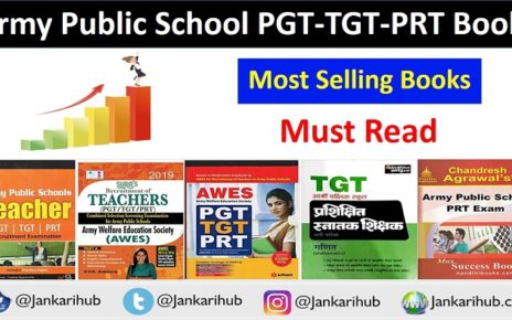 Books of army public school pgt tgt prt