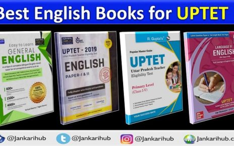 UPTET ENGLISH BEST BOOKS