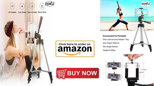 Latest tripod for mobile and camera