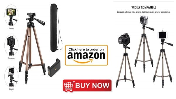 Best tripod for mobile and dslr in low price