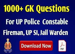 1000+ UP Police GK in Hindi