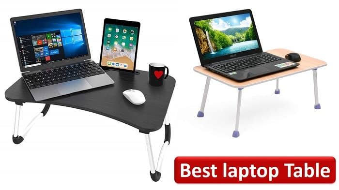 Best laptop table for bed in India-min