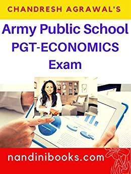 Army Public School-PGT Economics Exam