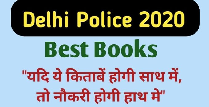 Best books for Delhi Police exam 2020-min