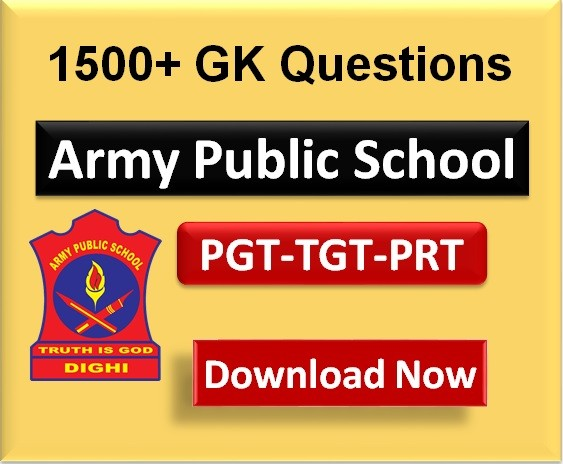Important-GK-for-Army-public-school-pgt-tgt-prt-exam-2020