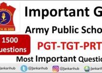 army public school important general knowledge