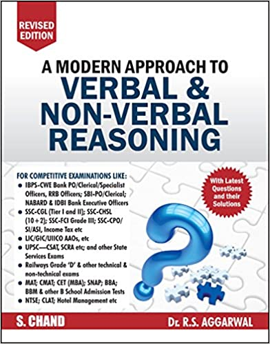 Best Verbal and Non-Verbal Reasoning Book for SBI PO