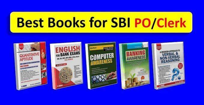 Best books for SBI PO Exam-min