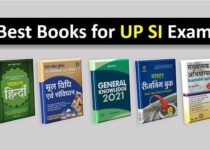 Best books for UP SI exam