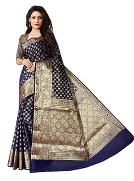 Latest saree designs for teacher-min