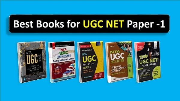 best books for ugc net paper 1