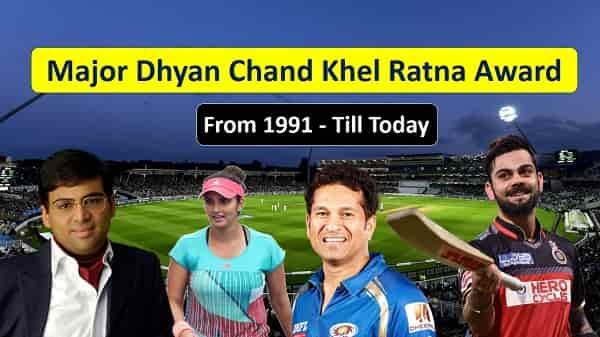 Major Dhyan Chand Khel Ratna Award