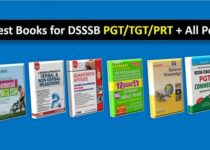 Best Books for DSSSB pgt tgt prt and other post-min