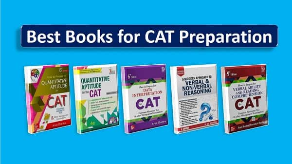 Best books for cat preparation exam-min